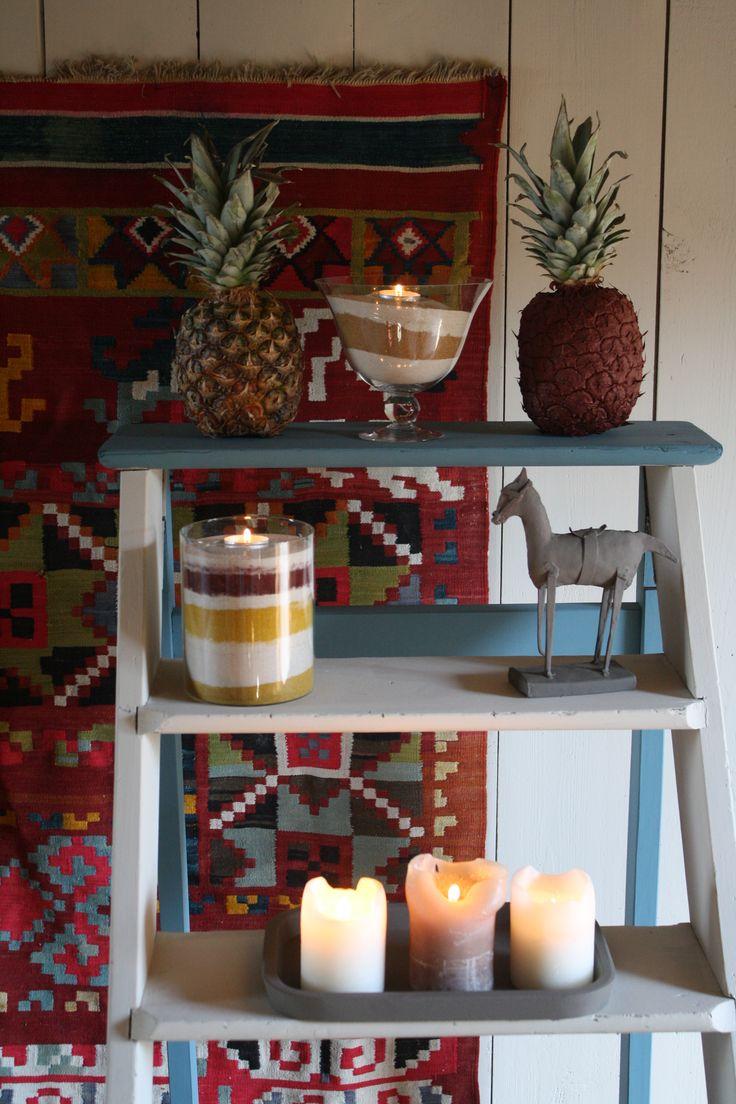 #peinture #paint #couleurs #déco #intérieur #interior #inspiration #colors Tomate confite, safran, maquis, sable blanc, bleu nordique