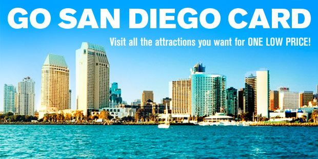 The Go San Diego Card is an all-inclusive attraction pass that gives you admission to all 38 San Diego attractions for one low price.