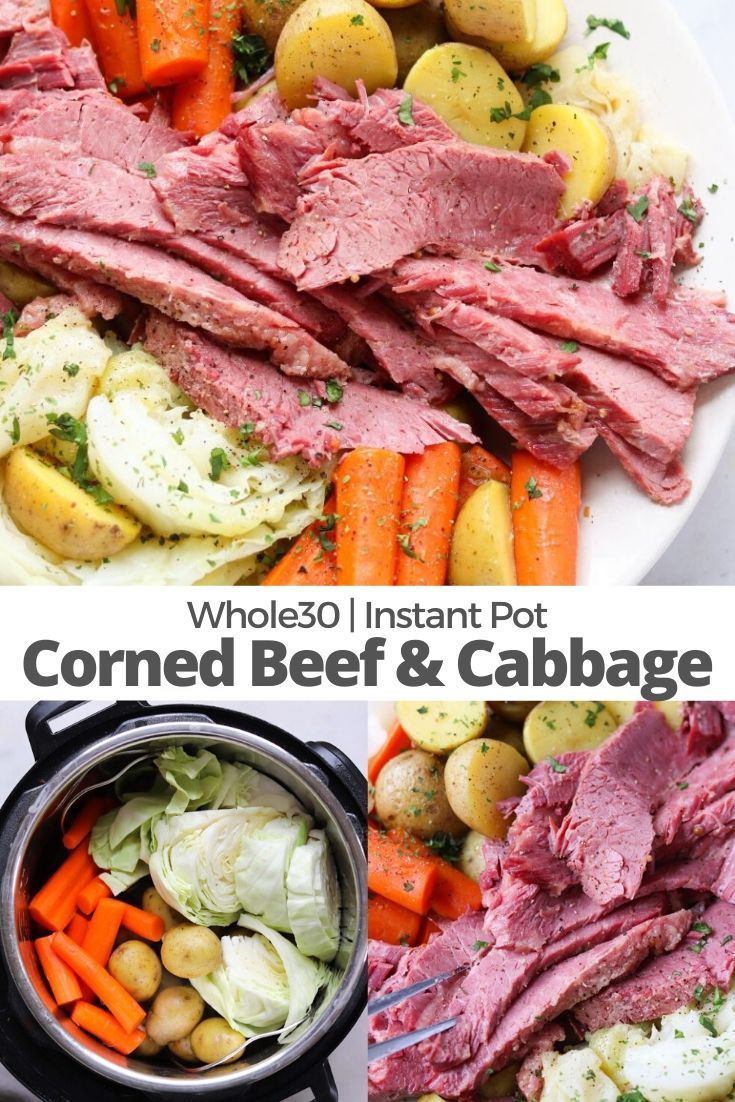 Instant Pot Corned Beef And Cabbage Recipe In 2020 Instant Pot Dinner Recipes Corn Beef And Cabbage Instant Pot Recipes