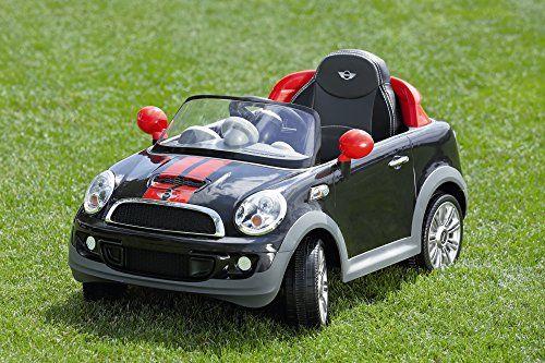Kinderauto MINI Cooper S Coupe Kinderfahrzeug Kinder Elektroauto W456E