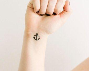 Anchor Temporary Tattoos