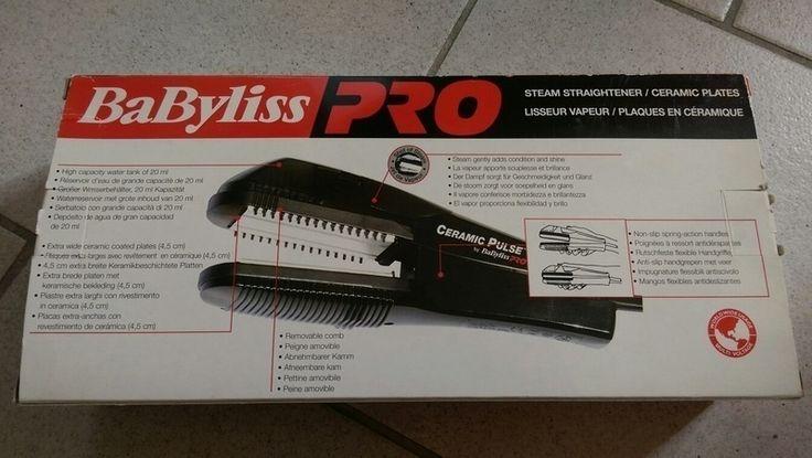 Haarglätter Dampfglätter Glätteisen BaByliss Pro
