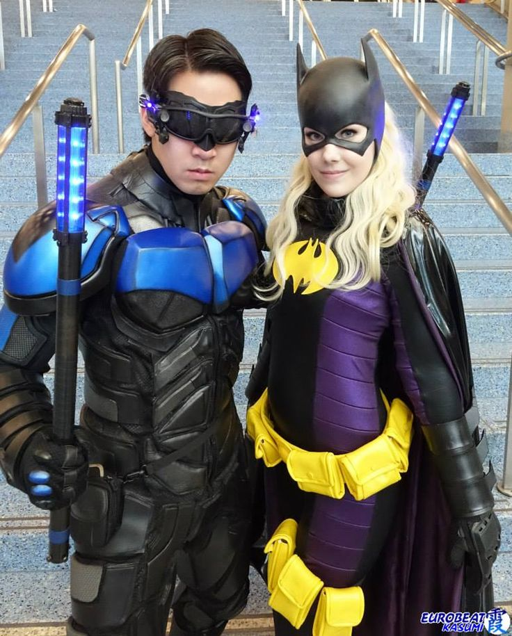 how to make nightwing armor