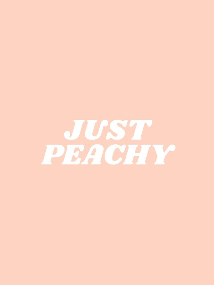 Just Peachy Society6 Com Typeangel Inspirational And Positive