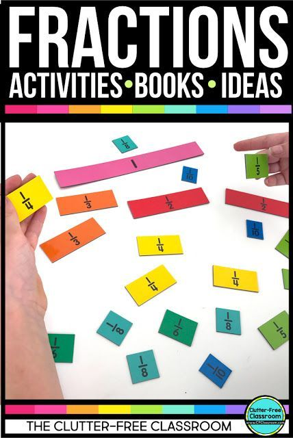 118 best FRACTIONS & DECIMALS ACTIVITIES & TEACHING IDEAS for ...