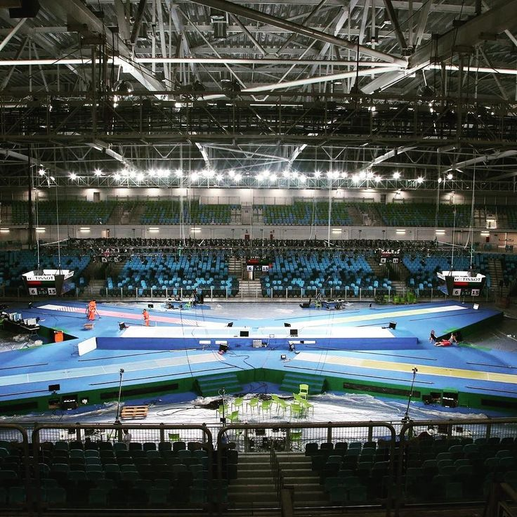 It's the #rio2016 Olympic #fencing venue where the #FencingGrandPrix in women's and men'epee will take place this weekend! #RioFGP #testevent  #carioca3 by fencing_fie