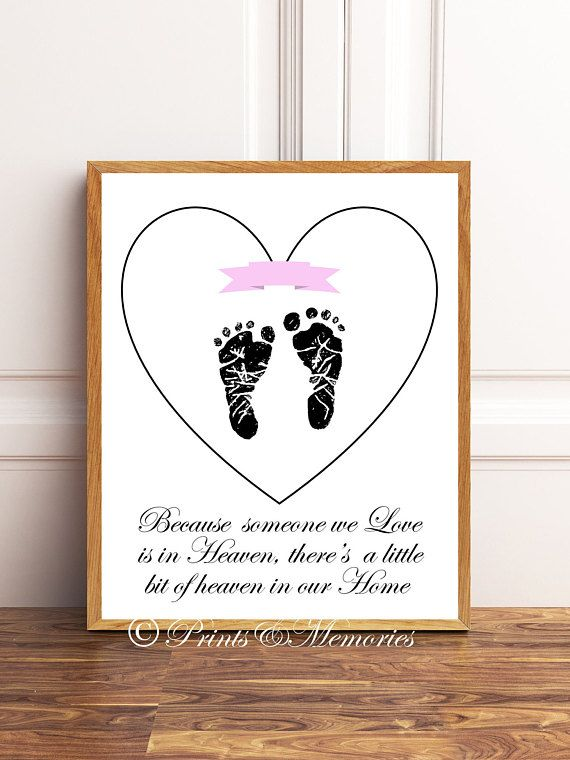Loss of Baby Loss of a Loved One Loss of Child Loss of a Child Bereavement Gift Angel in Heaven Personalized Memorial Frame