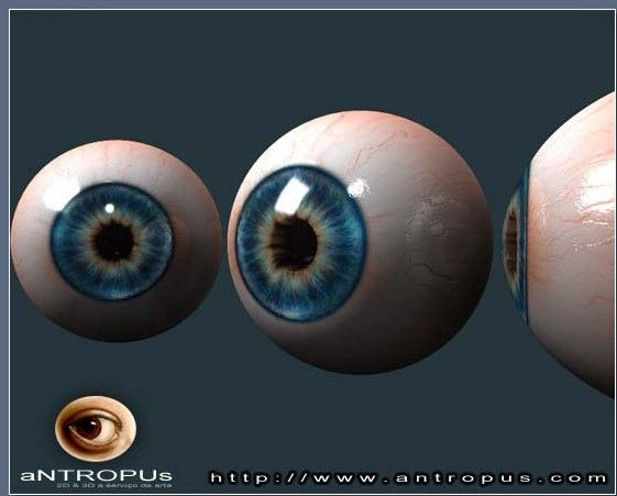 modeling an eye-- with material tutorial