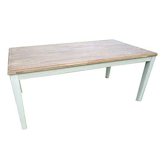Tuintafel Nicky is voor zowel binnenshuis als buitenshuis geschikt. Het frame van deze tafel is afgewerkt met een mooie witte verfkleur, met een mat gelakt tafelblad er bovenop. Deze tuintafel is opgebouwd uit Acaciahout, dit is hardhout dat veel gebruikt wordt voor tuinmeubelen doordat het in veel verschillende varianten geproduceerd kan worden.  #bijzettafel #bijzettafels #tuintafel #tuintafels #Tuintrends #Tuin #Tuinieren #Tuinmeubel #Tuinmeubels #Tuinmeubelen