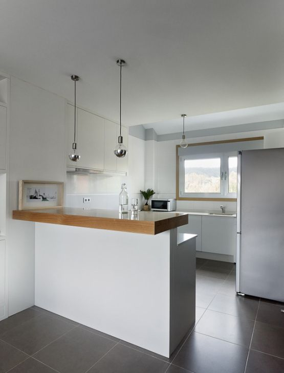 Soluciones almacenamiento mueble doble funci n inspiraci n for Barras modernas para living