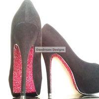 Red Bottom Bling Heels