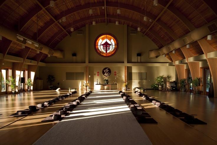Meditation Hall At Deer Park Monastery Escondido