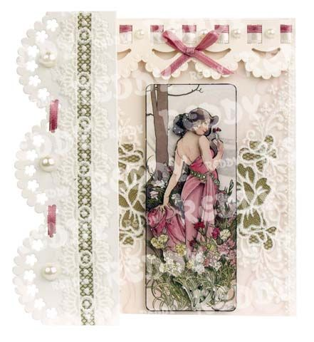 Romantische Faltkarten, Jugendstil