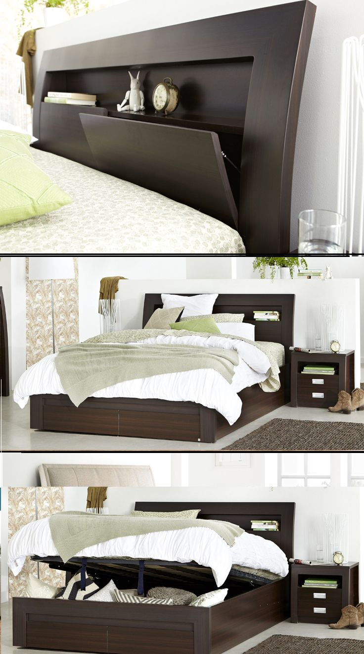 18 Best Images About Beds With Storage Drawers Or Gas Lift