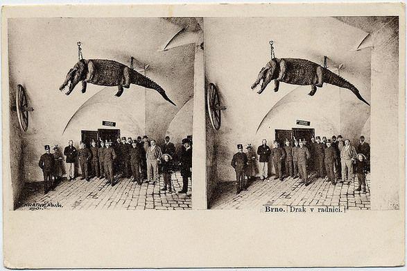 Brno Dragon | Atlas Obscura