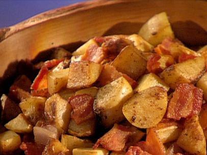 Fried German Potato Salad