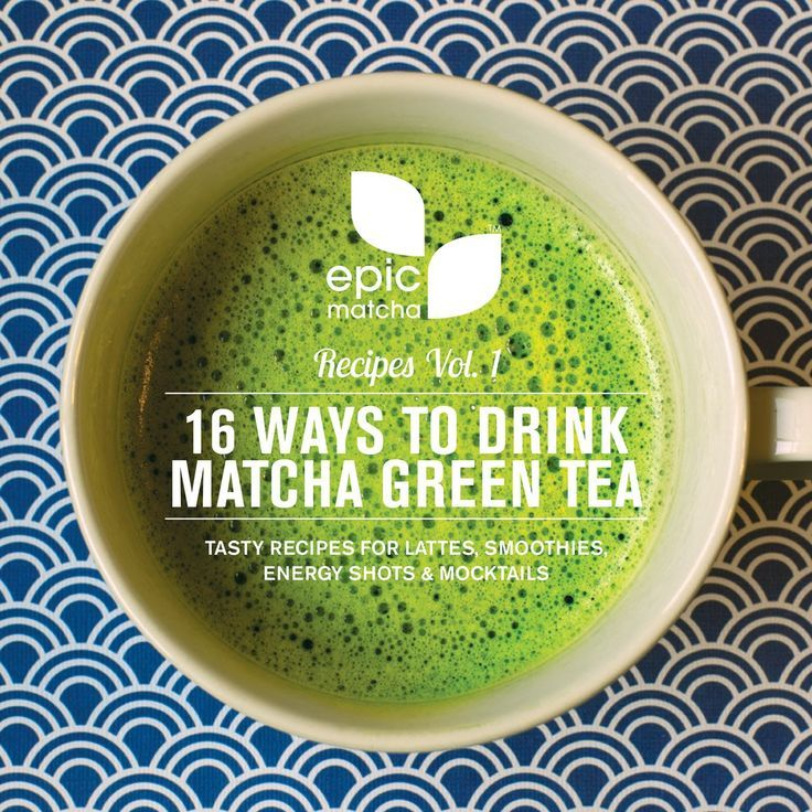Free Recipe eBook: 16 Ways to Drink Matcha Green Tea - Includes tasty lattes, smoothies, sparklers, mocktails, energy shots & even a Starbucks-like frappuccino. Click here to download:  http://go.epicmatcha.com/free-recipe-book-p