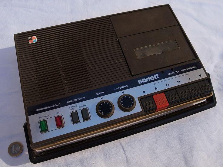 Kassetten-Tonbandgerät Sonett