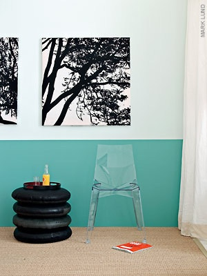 Inspiration Two Tone Walls Home Decoration Pinterest