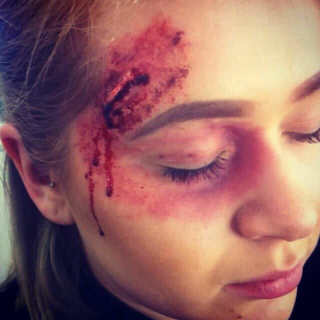 23 Best Images About Special Effects Cuts Bruise On Pinterest