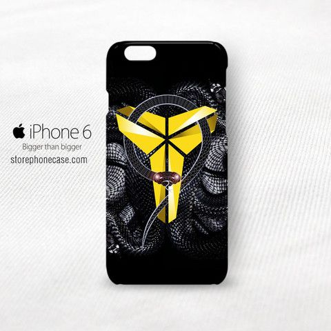 Kobe Brian Black Mamba Logo iPhone 6 6S Cover Case