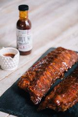 """Award-winning BBQ ribs, pulled pork and more shipped nationwide.  Get $25 off your first order using code """"pin25"""""""