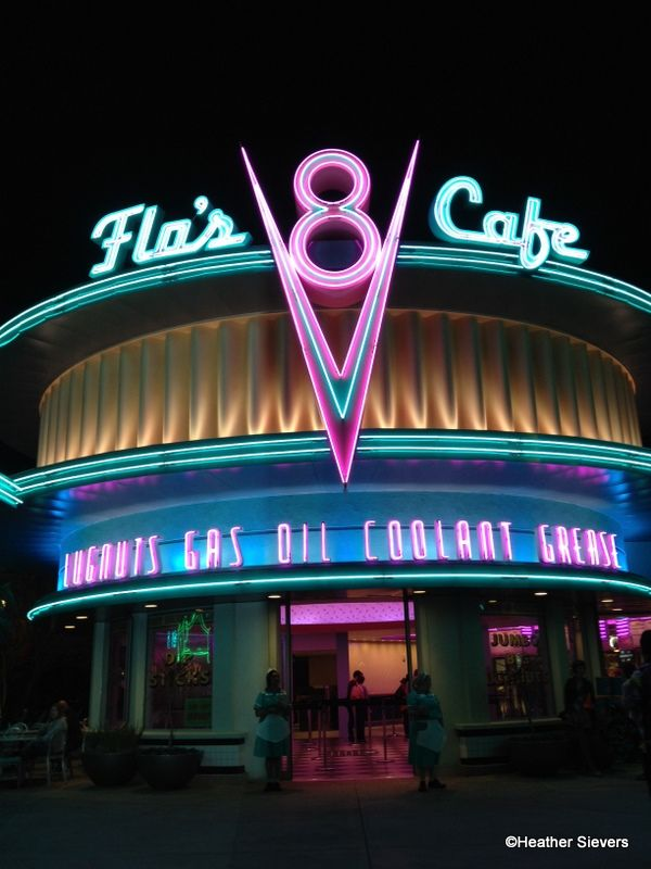 Flo's V8 Cafe - Disney California Adventure