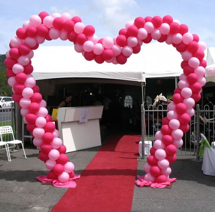 25 best ideas about balloon arch frame on pinterest