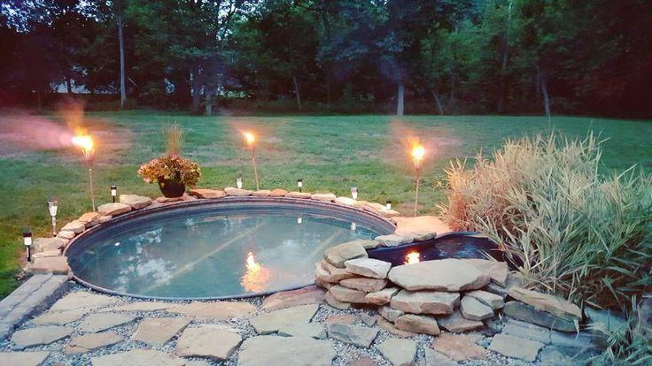 best 25 stock tank pool ideas on pinterest. Black Bedroom Furniture Sets. Home Design Ideas