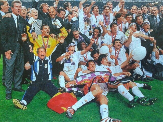 Champions league sieger 1997/98 Real Madrid