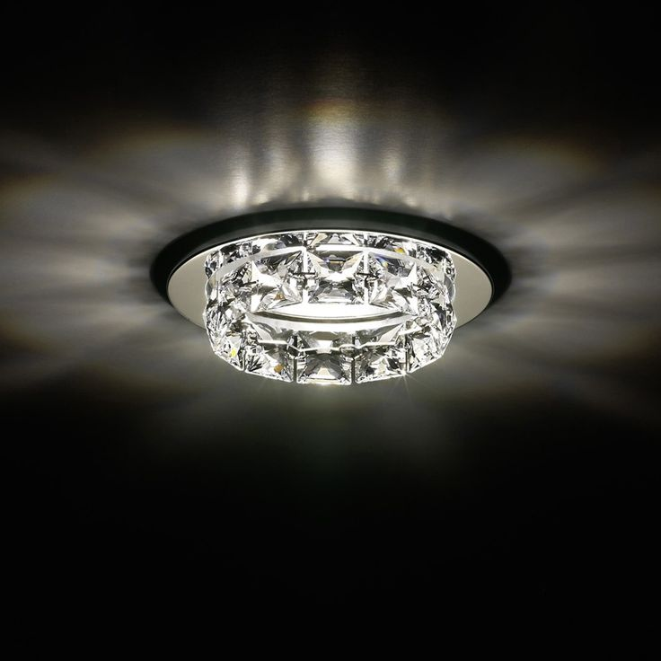Ringlet Recessed Light by Swarovski