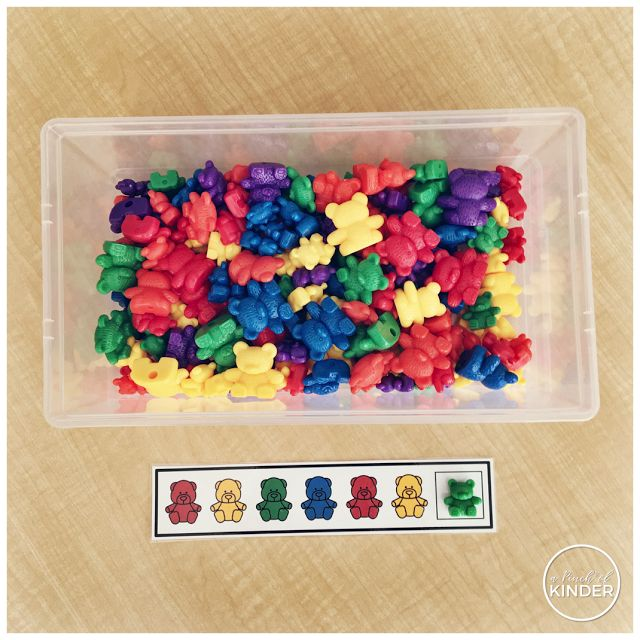 A Pinch of Kinder: A simple patterning activity that works on reproducing and extending patterns!