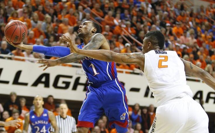 Naadir Tharpe KU Kansas basketball, Ku sports, Oklahoma