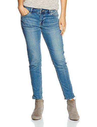 s.Oliver 14.607.72.2975 Pantalon Femme Bleu (Blue Denim Stretch) 36 ... fbbe51cdee