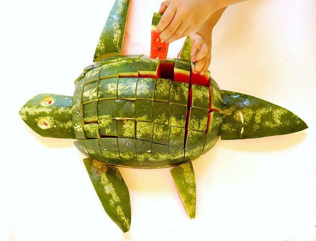 Come fare un Tartaruga Cocomero! | Pianeta delle Idee
