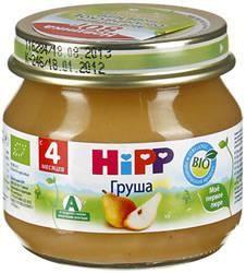 Хипп пюре Мое первое пюре груша с 4 мес 80г  — 52р. ------------ Фруктовое стерилизованное пюре для грудного ребенка, продукт прикорма. Состав продукта: Грушевое пюре, витамин C, натуральные сахариды. Органический продукт без содержания крахмала.  Фруктовое стерилизованное пюре для грудного ребенка содержит низкое содержание кислоты, не содержит сахара и молочного белка, без красителей, консервантов, ароматизаторов, не содержит глютина, без модифицированного крахмала, без ГМО. Производится…