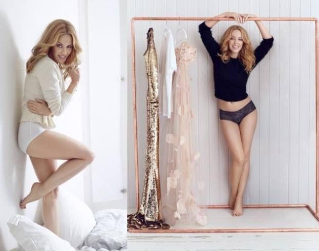 Kylie Minogue w reklamie bielizny Sloggi