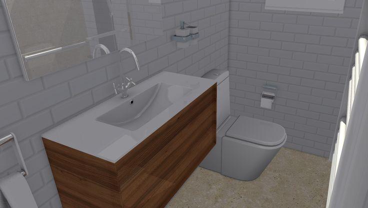 Interior de baño IV