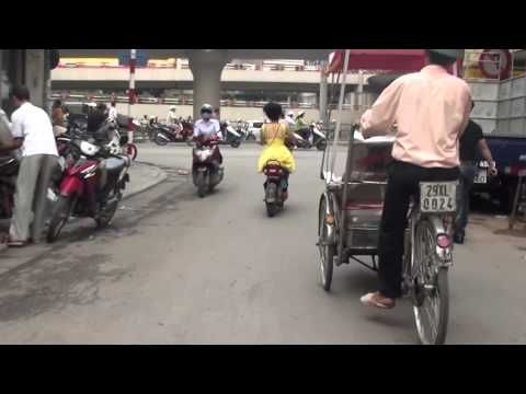 Hanoi Trishaw Ride