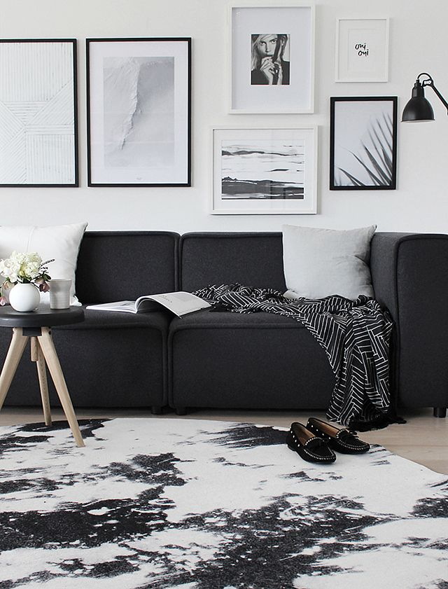 Best 25 Black Rug Ideas On Pinterest Black White Rug