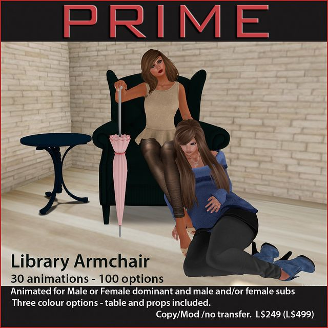 Library Armchair by PRIME | Flickr - Photo Sharing!