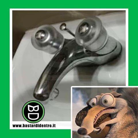 Questo #rubinetto non vi ricorda qualcuno? #bastardidentro Seguici sul nostro canale Youtube! www.bastardidentro.it