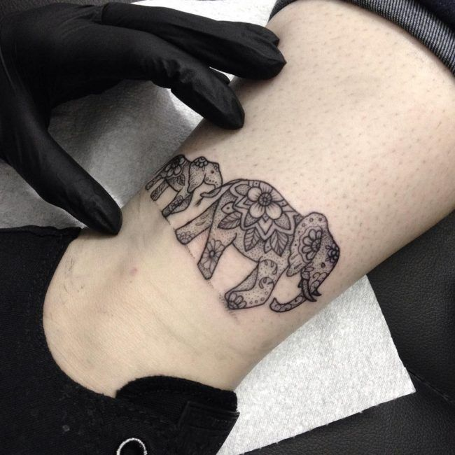 elephant tattoo9
