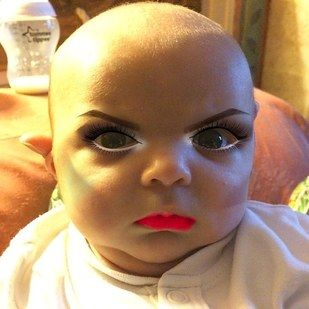 Mom Edits Baby's Photos With Makeup App // don't guild the lily.