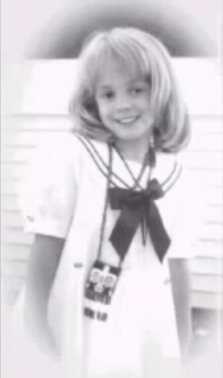 Jonbenet Patricia Ramsey 8/6/90-12/25/96, brutally murdered by unknown intruder, case never solved.