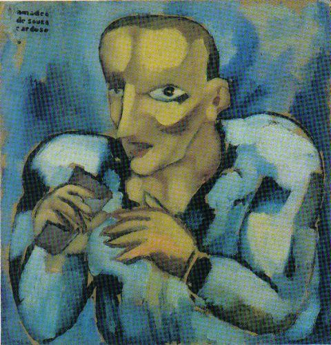 Amadeo de Souza-Cardoso (Portuguese: 1887 – 1918)   The Rat 1915