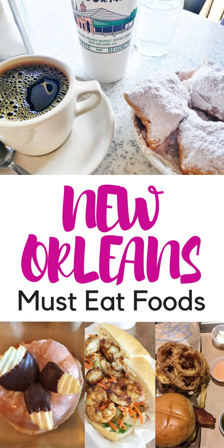 Keep reading for 11 Must-Eat Foods and Best Restaurants in New Orleans. From beignets to gumbo, these are the must-do's in the Big Easy.