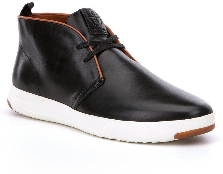Cole Haan Men s GrandPro Suede Leather Chukka Boots