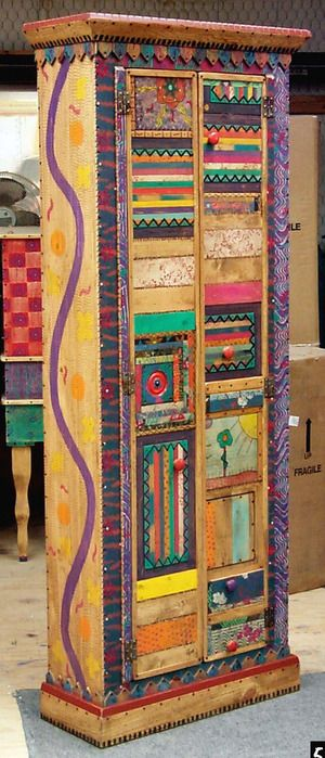 One of a kind furniture from SHOESTRING CREATIONS