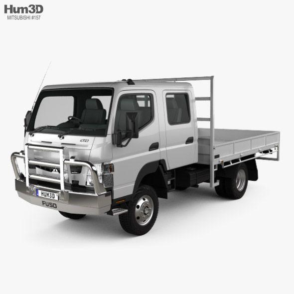 Mitsubishi Fuso Canter Fg Wide Crew Cab Tray Truck 2016 Crew Cab Work Truck Mitsubishi